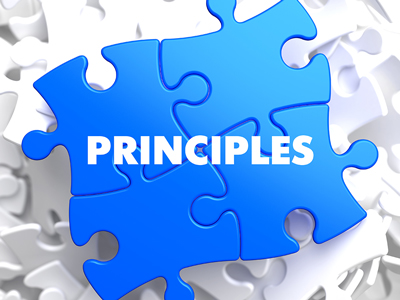 12-step principles - principles puzzle piece - summit bhc