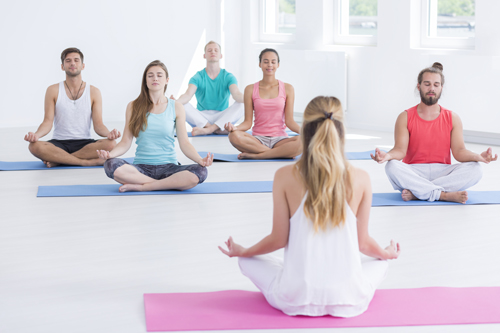 Healing Addiction Through Yoga - yoga class - summit bhc