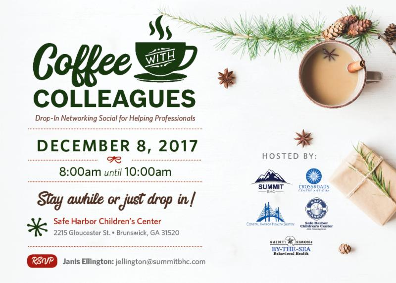 Coffee with Colleagues - December 8, 2017 - Summit BHC hosted events