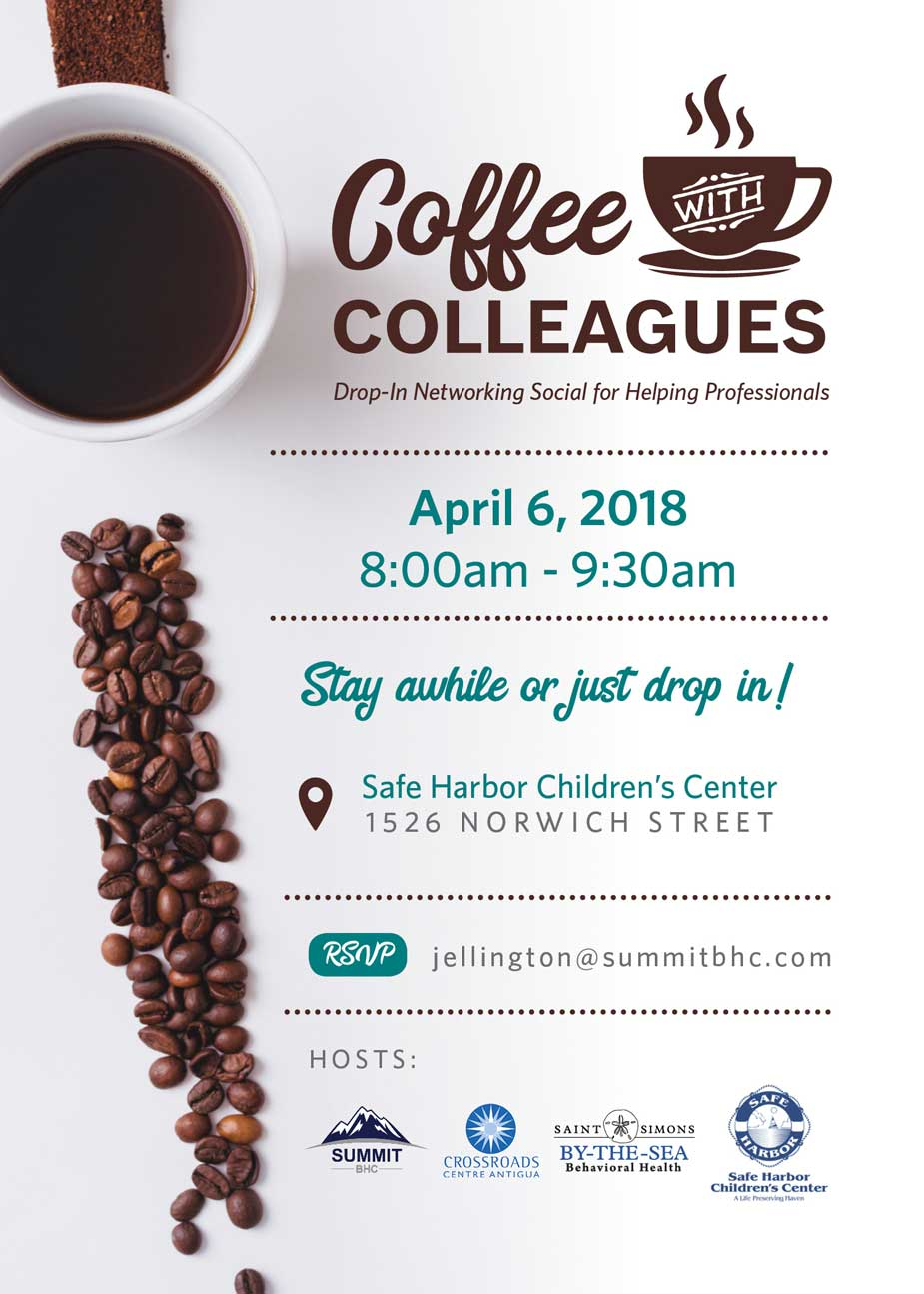 Coffee with Colleagues - April 6, 2018 - Summit BHC hosted events