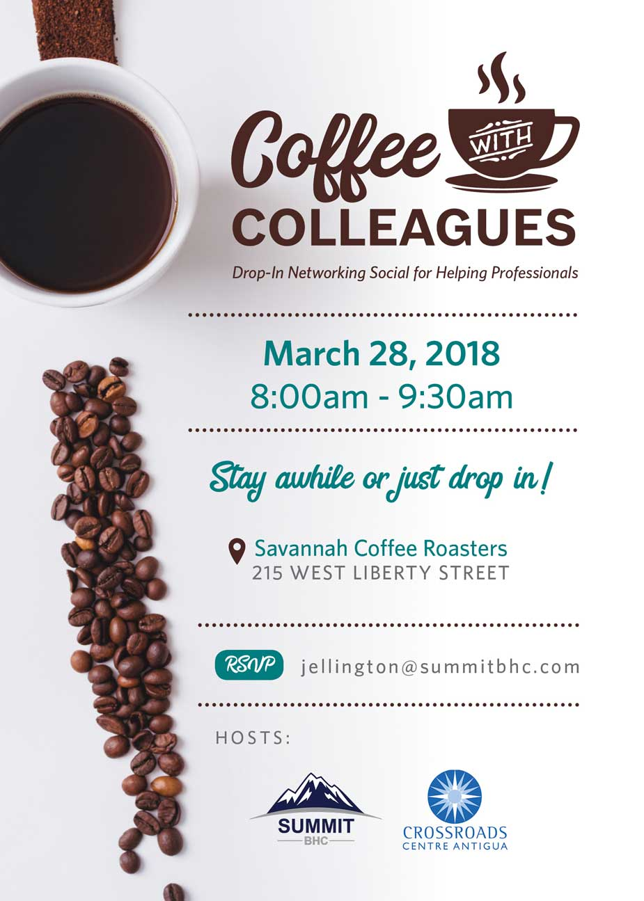 Coffee with Colleagues - March 28, 2018 - Summit BHC hosted events