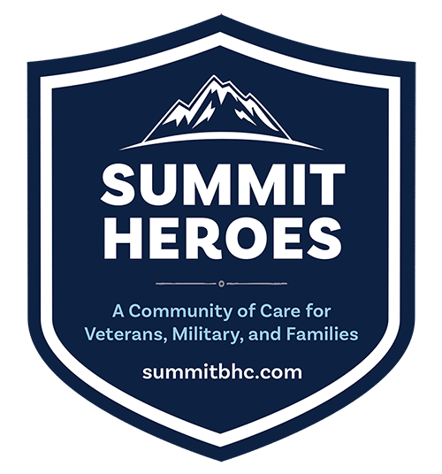 Summit Heroes Program for veterans, active military personnel and their family members VMF - addiction treatment for veterans